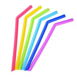 Silicone Straws bents set
